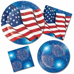 Fireworks & Flags Party Supplies