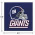 Blue, red and white New York Giants Luncheon Napkins sold in quantities of 16 / pkg, 12 pkgs / case