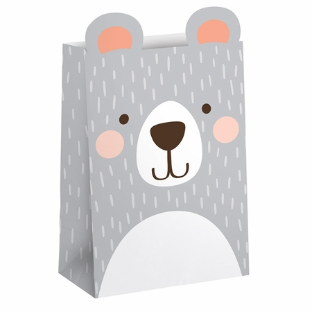 Bear Party Favor Bags 96 ct