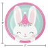 Bunny Party Dessert Plates 96 ct