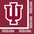 Red and white Indiana University Luncheon Napkin sold in quantities of 20 / pkg, 12 pkgs / case