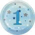 One Little Star Boy 1st Birthday Dessert Plates 96 ct