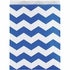 Cobalt Blue Chevron Treat Bags 120 ct