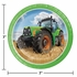 Tractor Time Dessert Plates 96 ct
