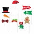 Christmas Photo Booth Props 60 ct