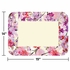 "Pink, purple and ivory Mali 15"" x 20"" Traymats sold in quantities of 1000 / pkg, 1 pkg / case."