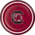 Black and red University of South Carolina Dessert Plate sold in quantities of 8 / pkg, 12 pkg / case