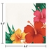 Tropical Flowers Luncheon Napkins 192 ct