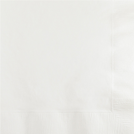 White Beverage Napkins 3 ply 500 ct