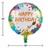 Art Party Mylar Balloons 10 ct