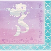 Iridescent Mermaid Party Luncheon Napkins 192 ct