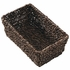 """10"""" x 6.25"""" x 4.25"""" Seagrass Guest Towel Basket 1 ct"""