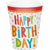 Birthday Fun Paper Cups 96 ct