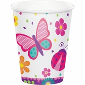 Butterfly Garden Paper Cups 96 ct