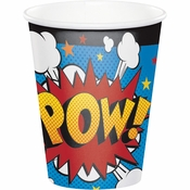 Superhero Slogans Paper Cups 96 ct