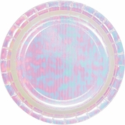 Iridescent Party Dessert Plates 96 ct