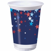 Patriotic Pride Fourth of July Plastic Cups 96 ct