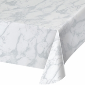 Marble Plastic Tablecloths 6 ct
