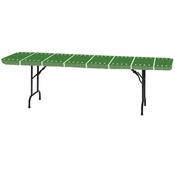 "Stay Put Football Field 30"" x 96"" Tablecovers 12 ct"