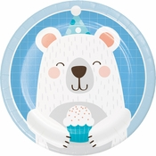Bear Party Dessert Plates 96 ct