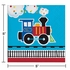 All Aboard Train Beverage Napkins 192 ct