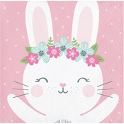 Bunny Party Beverage Napkins 192 ct