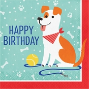 Dog Party Birthday Luncheon Napkins 192 ct