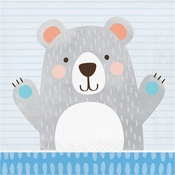 Bear Party Luncheon Napkins 192 ct