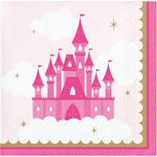 Little Princess Beverage Napkins 192 ct