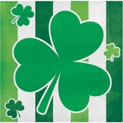 Irish Shamrocks Beverage Napkins 192 ct