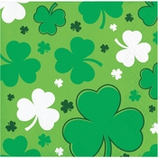 Happy St. Patricks Day Beverage Napkins 192 ct