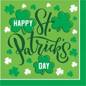 Happy St. Patricks Day Luncheon Napkins 192 ct