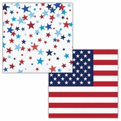 Patriotic Pride Fourth of July Beverage Napkins 192 ct