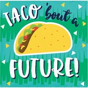 Fiesta Fun Taco Bout A Future Grad Beverage Napkins 192 ct