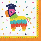 Fiesta Fun Grad Luncheon Napkins 192 ct