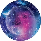 Galaxy Party Dessert Plates 96 ct