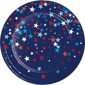 Patriotic Pride Fourth of July Dessert Plates 96 ct