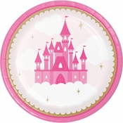 Little Princess Dessert Plates 96 ct