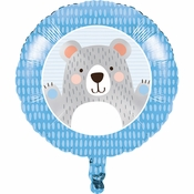 Bear Party Mylar Balloons 10 ct