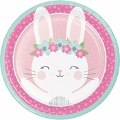 Bunny Party Dinner Plates 96 ct