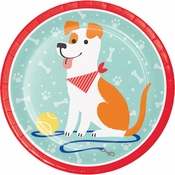Dog Party Dinner Plates 96 ct
