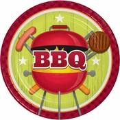 Barbeque Dinner Plates 96 ct
