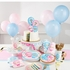 Gender Reveal Balloons Dessert Plates 96 ct
