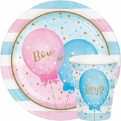 Gender Reveal Balloons Party Supplies