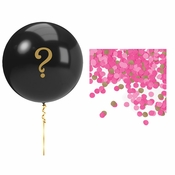 Pink Gender Reveal Balloons Balloons Kits 12 ct