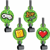 Video Games Party Party Blowers 48 ct