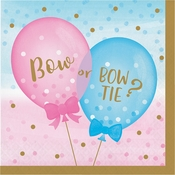 Gender Reveal Balloons Luncheon Napkins 192 ct