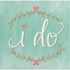 Mint To Be I Do Beverage Napkins 192 ct