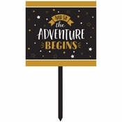 Grad Adventure Yard Signs 6 ct