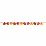Tropical Flowers Banners 12 ct